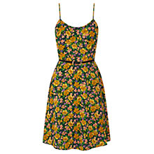 Buy Oasis Ditsy Cami Skater Dress, Multi Yellow Online at johnlewis.com