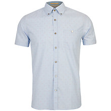 Buy Ted Baker Knightd Striped Fil Coupé Shirt Online at johnlewis.com