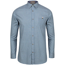 Buy Ted Baker Thewolf Micro Tile Print Shirt Online at johnlewis.com