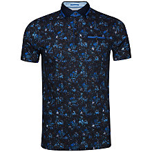 Buy Ted Baker Simorg Tropical Leaf Print Polo Shirt Online at johnlewis.com