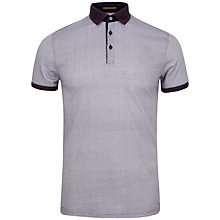 Buy Ted Baker Chapmun Geo Print Polo Shirt Online at johnlewis.com