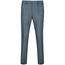 Buy Ted Baker Veerity Diamond Jacquard Suit Trousers, Light Blue Online at johnlewis.com