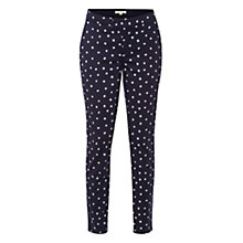 Buy White Stuff Dotty Trousers, Uniform Blue Online at johnlewis.com
