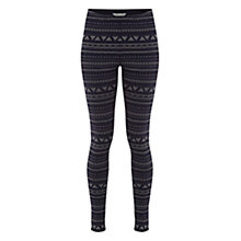 Buy White Stuff Zig-Zag Leggings, Navy Online at johnlewis.com