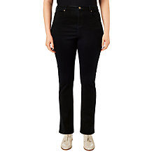 Buy Studio 8 Ffion Straight Leg Jeans, Black Online at johnlewis.com