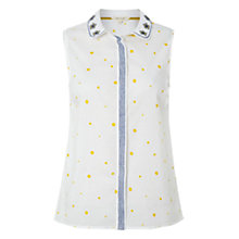 Buy White Stuff Verander Spot Vest, Sunshine Online at johnlewis.com