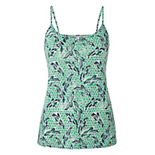 Buy White Stuff Carla Linen Camisole Top, Kiwi Online at johnlewis.com