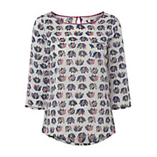 Buy White Stuff Flourish Top, Hankerchief Online at johnlewis.com