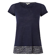 Buy White Stuff Sketching T-Shirt, Navy Online at johnlewis.com