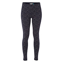 Buy White Stuff Spot Leggings, Navy Online at johnlewis.com