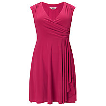 Buy Studio 8 Pearl Wrap Dress, Lipstick Online at johnlewis.com