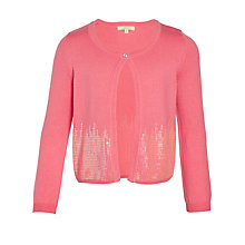 Buy John Lewis Heirloom Collection Girls' Sequin Embellished Cardigan Online at johnlewis.com