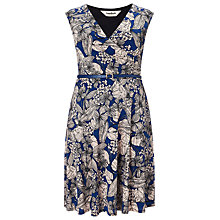 Buy Studio 8 Estelle Jersey Dress, Blue Online at johnlewis.com