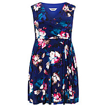 Buy Studio 8 Sonia Colour Pop Dress, Blue Online at johnlewis.com