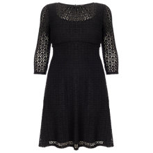 Buy Studio 8 Maya Lace Dress, Black Online at johnlewis.com