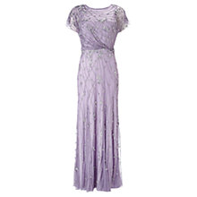 Buy Phase Eight Collection 8 Embellished Full Length Dress, Pale Violet Online at johnlewis.com