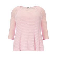 Buy Studio 8 Maggie Pointelle Top, Pink Online at johnlewis.com