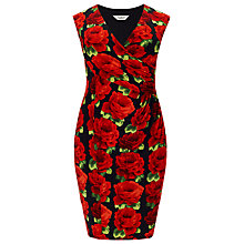 Buy Studio 8 Rachel Rose Print Dress, Red Online at johnlewis.com