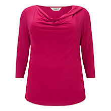 Buy Studio 8 Verity Cowl Neck Top, Lipstick Online at johnlewis.com