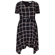 Buy Studio 8 Kelly Check Dress, Black Online at johnlewis.com