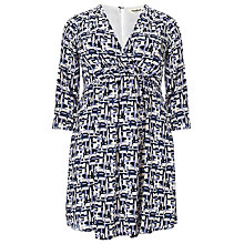 Buy Studio 8 Brush Stroke Dress, Multi Online at johnlewis.com