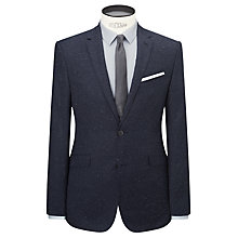 Buy Kin by John Lewis Spark Lux Fleck Suit Jacket, Midnight Online at johnlewis.com