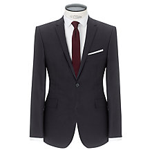 Buy Kin by John Lewis Sigma Lux Tonal Check Suit Jacket, Navy Online at johnlewis.com