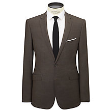 Buy Kin by John Lewis Slim Fit Aldo Jaspe Suit Jacket, Biscuit Online at johnlewis.com