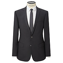 Buy Kin by John Lewis Enno Slim Fit Stretch Plainweave Suit Jacket, Black Online at johnlewis.com