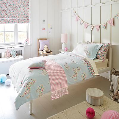 Sanderson Pretty Ponies Duvet and Pillowcase Set, Single