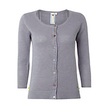 Buy White Stuff Lucky Cardigan, Bed Linen Blue Online at johnlewis.com