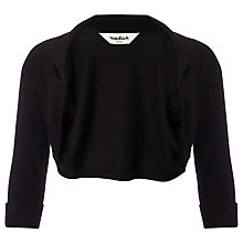 Buy Studio 8 Suzy Shrug, Black Online at johnlewis.com