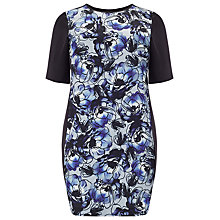 Buy Studio 8 Zamira Photo Floral Tunic Dress, Blue / Black Online at johnlewis.com