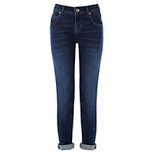 Buy Oasis Hollie Slim Boyfriend Jeans, Denim Online at johnlewis.com