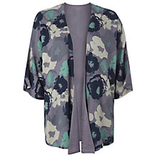Buy White Stuff Grand Floral Print Kimono, Bed Linen Blue Online at johnlewis.com