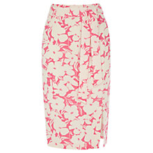 Buy Oasis Floral Print Wrap Skirt, Multi Pink Online at johnlewis.com