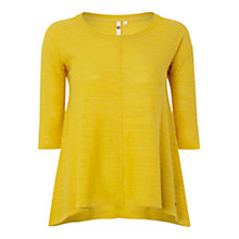 Buy White Stuff Embossed Jumper, Sunshine Online at johnlewis.com
