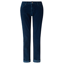 Buy Jigsaw Cord Hampton Jeans, Indigo Online at johnlewis.com