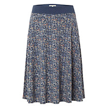 Buy White Stuff Foliage Skirt, Thunder Blue Online at johnlewis.com