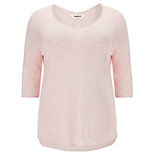 Buy Studio 8 Hannah V-Back Jumper, Light Rose Online at johnlewis.com