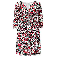 Buy Studio 8 Charlotte Cherry Dress, Black / Red Online at johnlewis.com