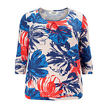 Buy Studio 8 Lilian Floral Top, Multi Online at johnlewis.com