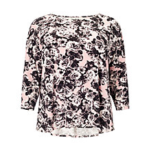 Buy Studio 8 Annie Floral Top, Pink Online at johnlewis.com