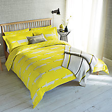 Buy Scion Mr Fox Bedding, Citrus Online at johnlewis.com