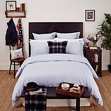 Buy Lexington Poplin Check Bedding, Blue Online at johnlewis.com