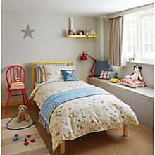 Buy Sanderson Dogs in Clogs Duvet and Pillowcase Set Online at johnlewis.com