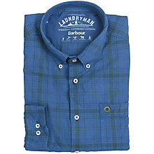 Buy Barbour Laundryman Albany Laundered Check Shirt Online at johnlewis.com
