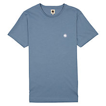 Buy Pretty Green Short Sleeve Crew Neck T-shirt, Blue Online at johnlewis.com