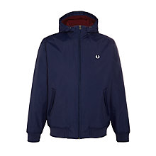 Buy Fred Perry Quilted Brentham Jacket, Carbon Blue Online at johnlewis.com
