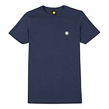 Buy Pretty Green Short Sleeve Crew Neck T-shirt, Navy Online at johnlewis.com